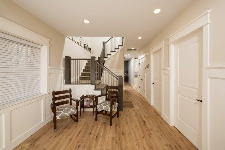 Falls Church, VA-Custom Trim Foyer/Hallway