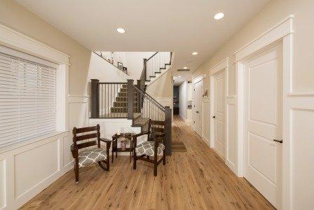 Falls Church, VA-Custom Trim Foyer/Hallway