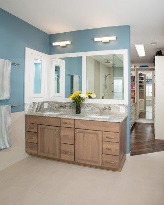 Falls Church, VA-Master Bathroom Vanity and Sink