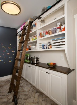 Falls Church, VA-Walk-In Kitchen Pantry