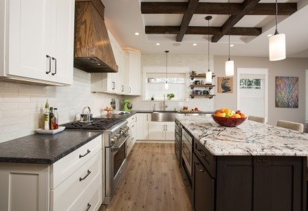 Falls Church, VA-Contemporary Open Kitchen