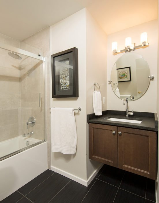 Fairfax, VA-Contemporary Bathroom Tub/Shower