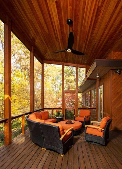 Cozy porch schroeder