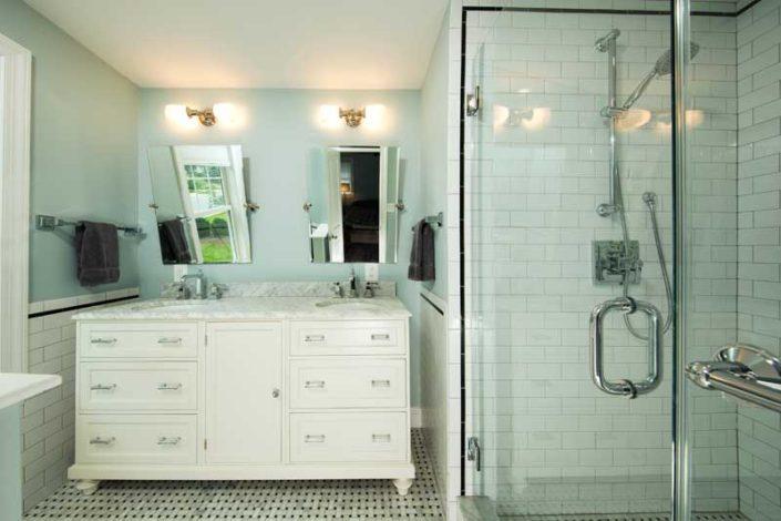 Guest bathroom mclean