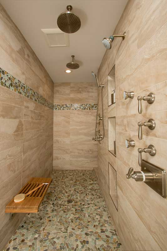 Rainhead shower