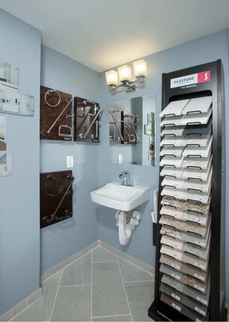 SDB Inspiration Studio Bathroom Fixtures and Tile Samples