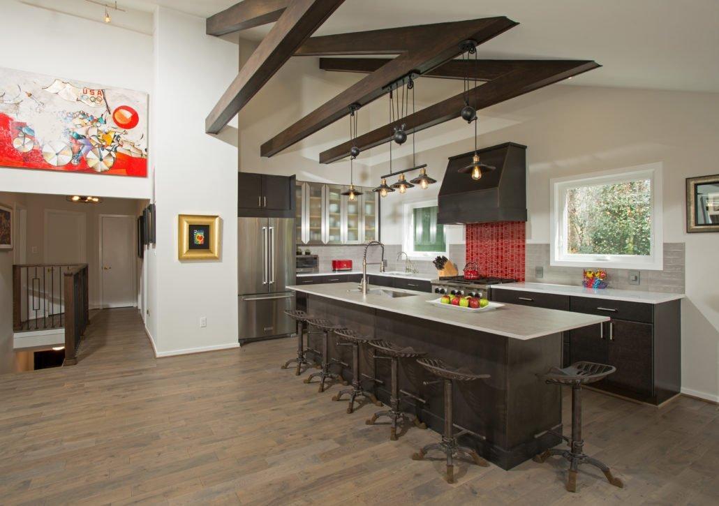 Fairfax, VA-Open Contemporary Kitchen