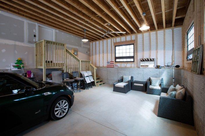 Fairfax, VA-Garage Addition with High Ceiling