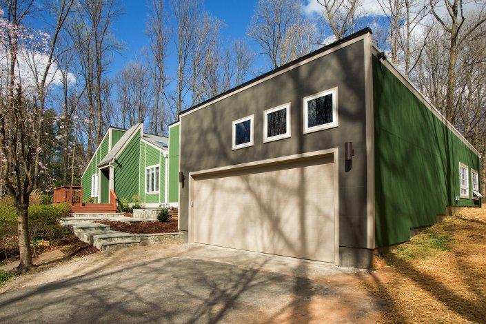 Fairfax, VA-High-Ceiling Garage Addition
