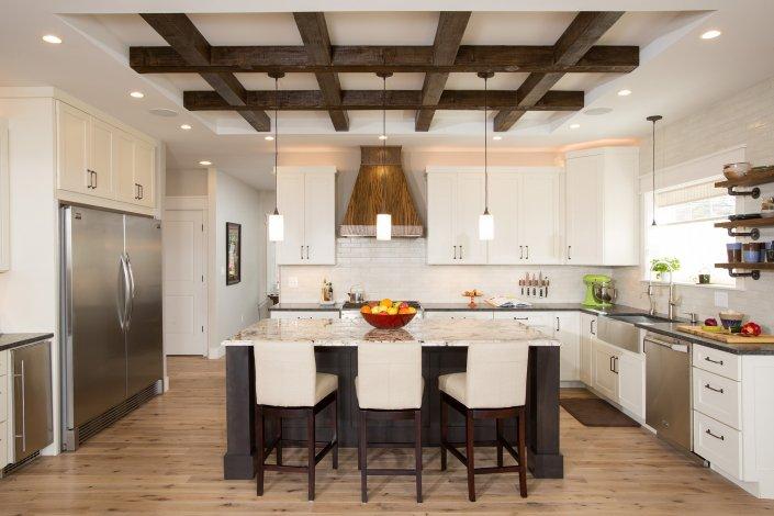 Falls Church, VA-Beautiful Craftsman Style Open Kitchen Concept