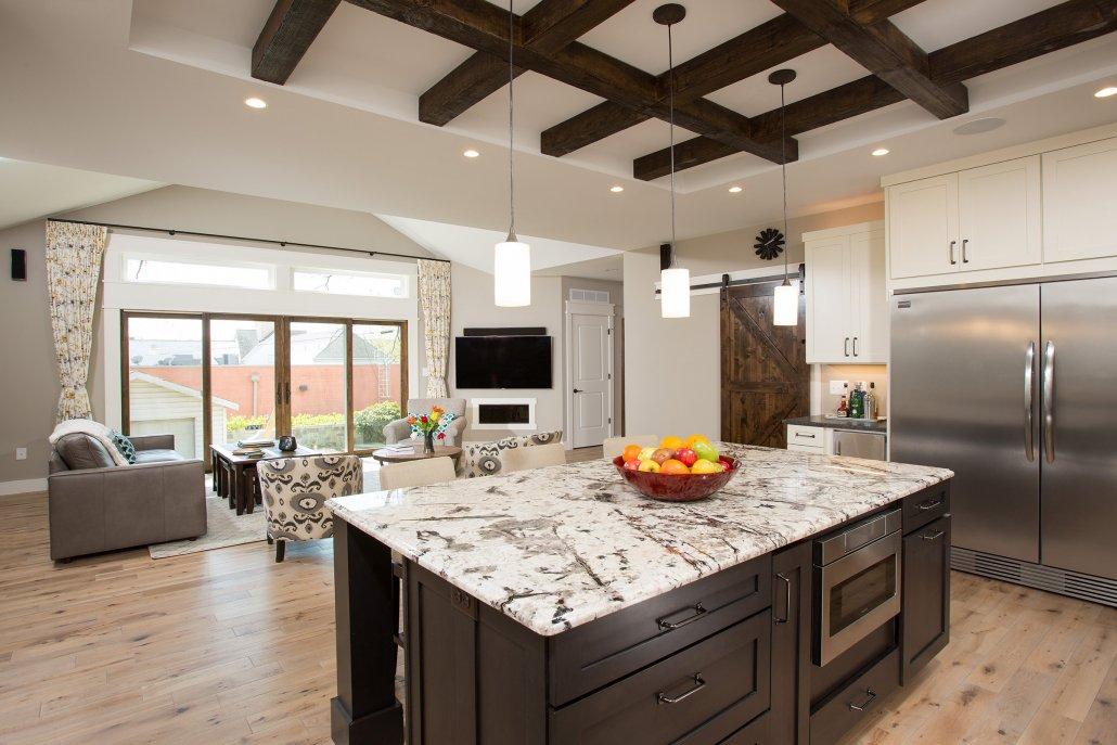 Falls Church, VA-Large Open Kitchen Concept