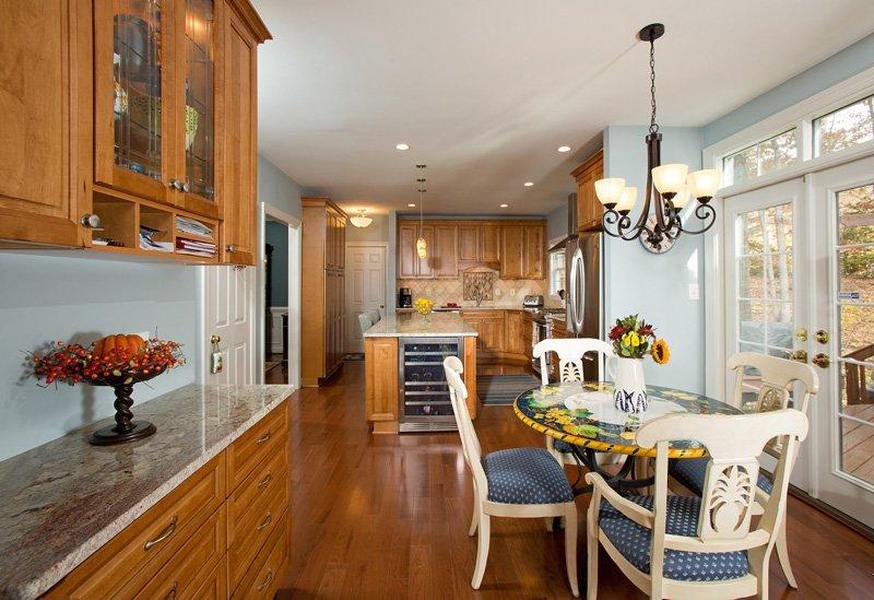 Fairfax Station, VA-Open Kitchen and Dining Room