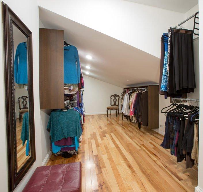 Herndon, VA-Customize Closet Addition with Angled Roof