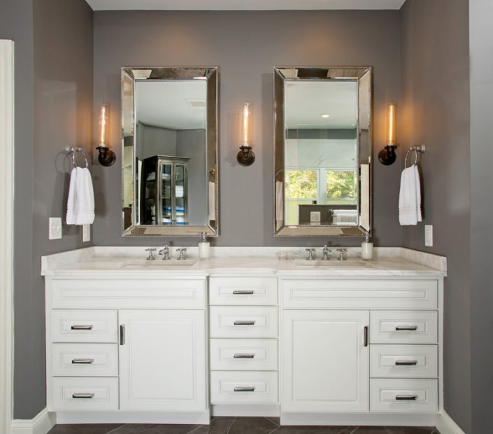 Springfield, VA-Master Bathroom Vanity and Sink