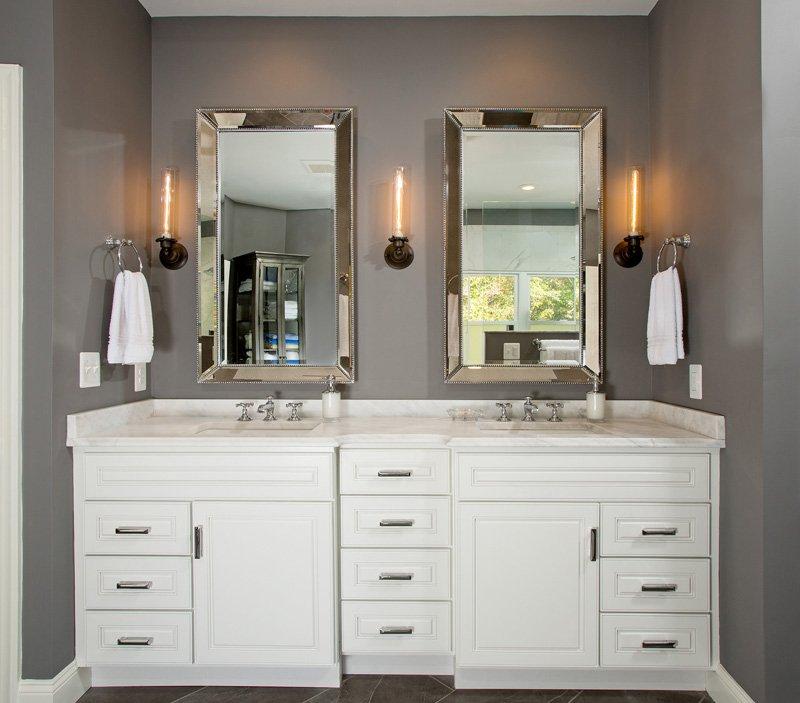 Springfield, VA-Master Bathroom Vanity and Sink