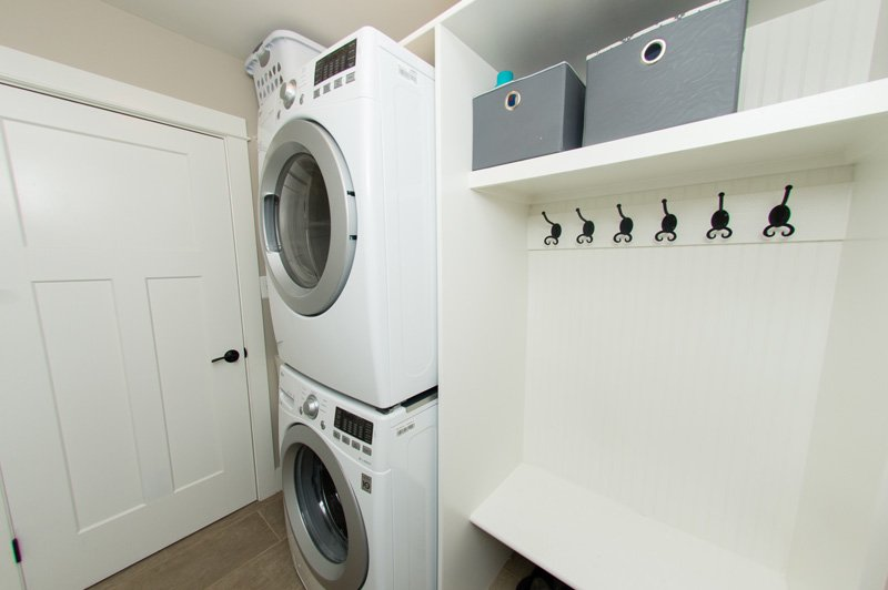 empty nester renovation laundry room