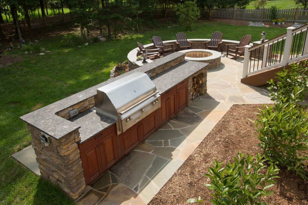 remodeled outdoor living space